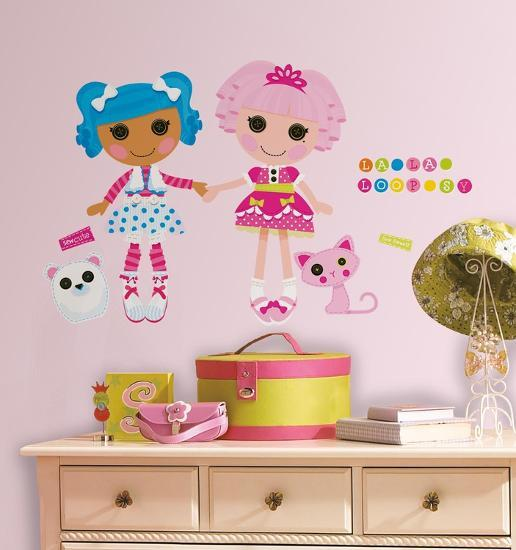 Lalaloopsy L Stick Giant Wall Decals