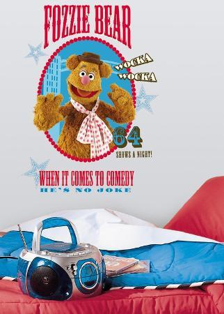 Muppets - Fozzie Peel & Stick Giant Wall Decal