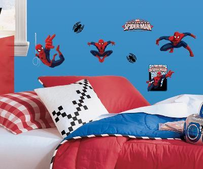 Spiderman - Ultimate Spiderman Peel & Stick Wall Decals