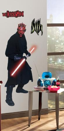 Star Wars Episodes 1 - 3 - Darth Maul Peel & Stick Giant Wall Decal