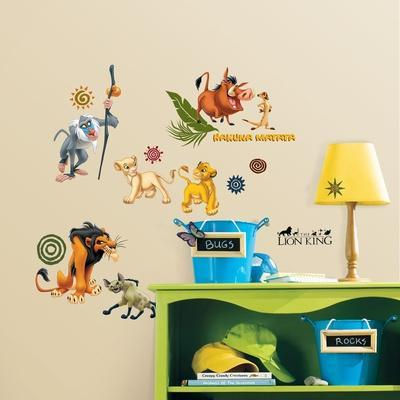 The Lion King Peel & Stick Wall Decals
