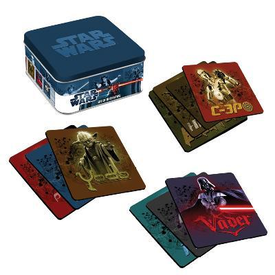 Star Wars 10 pc Wood Coaster Set with Tin Box