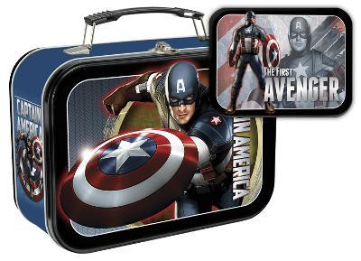 Captain America: The First Avenger Large Tin Lunch Box
