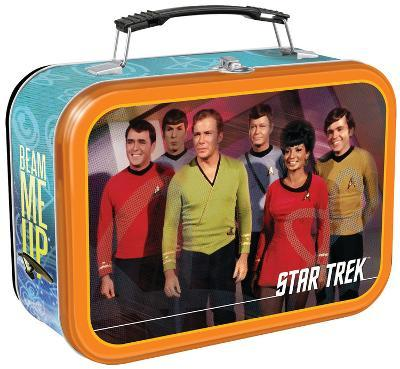 Star Trek Large Tin Lunch Box