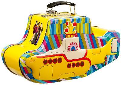 The Beatles - Yellow Submarine Embossed Tin Lunch Box