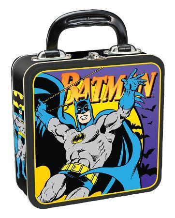 Batman Square Tin Lunch Box