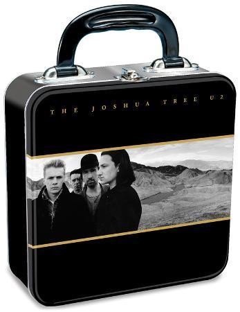 U2 Square Tin Lunch Box