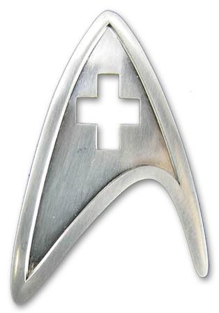 Star Trek Starfleet Division Badge - Medical