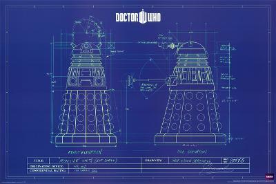 Doctor Who - Dalek Blue Prints