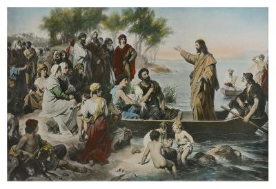 Christ Preaching By the Sea