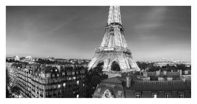 The Eiffel Tower and surrounding Buildings