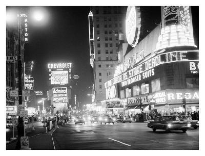 Times Square at Night, 1959