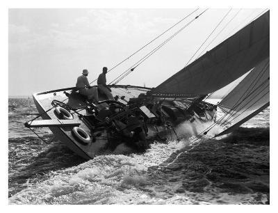 Yacht in Race, 1937
