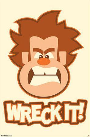 Wreck-It Ralph Movie Poster Print
