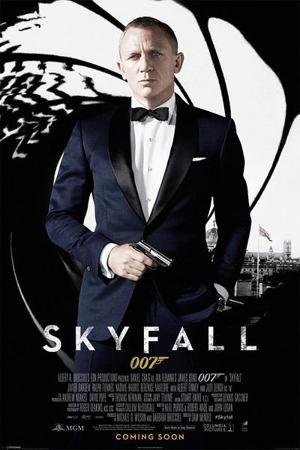 James Bond Skyfall - Credits