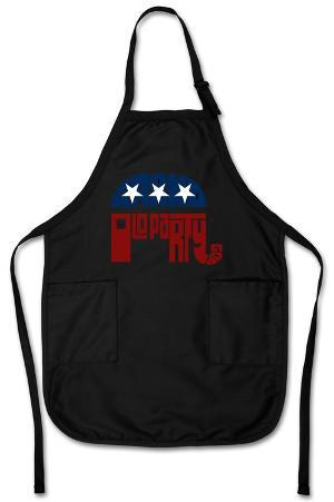 GOP 'Grand Old Party' Logo Apron