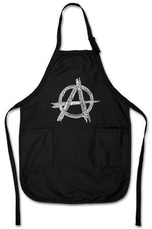 Anarchy - Punk Song Titles Apron