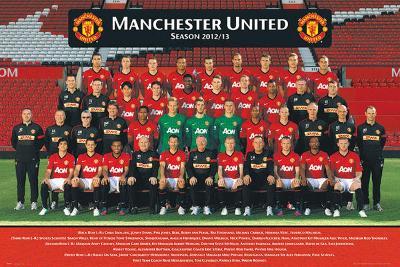 Manchester United Team Photo 2012/2013