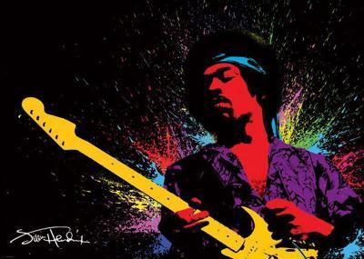 Jimi Hendrix - Paint