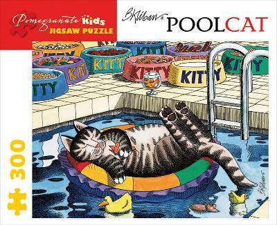 Kliban/Pool Cat 300 Piece Puzzle