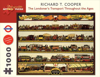 Londoner's Transport 1000 Piece Puzzle