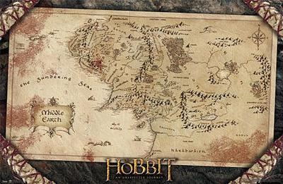 The Hobbit: An Unexpected Journey - Map