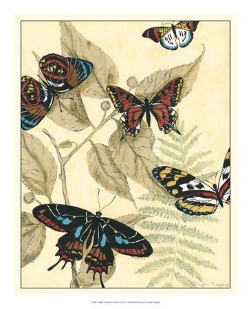 Graphic Butterflies in Nature II