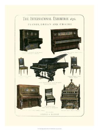 Pianos, Organ & Chairs 1876