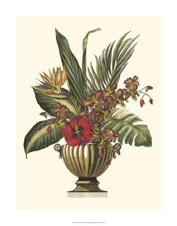 Tropical Foliage in Urn I