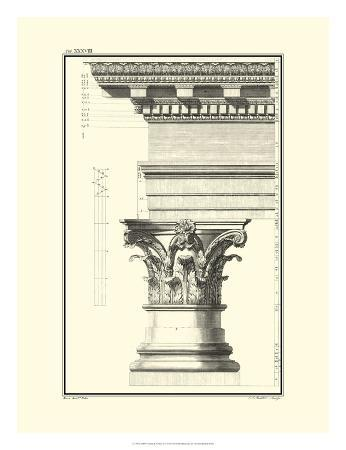 Column and Cornice I
