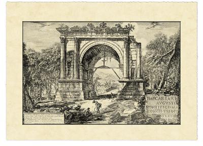 Vintage Roman Ruins II
