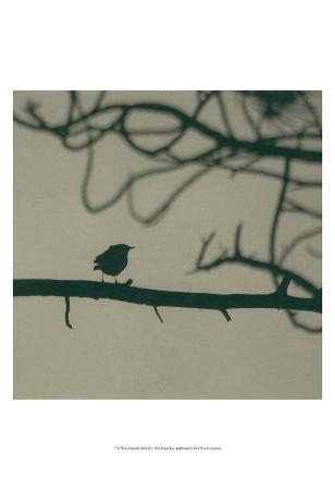 Caligraphy Bird II