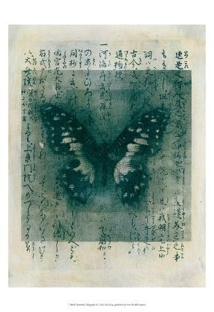 Butterfly Calligraphy I
