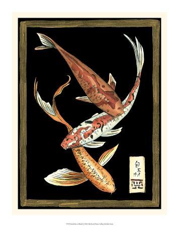 Koi Fish on Black II