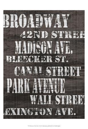 Streets of New York I