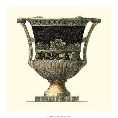 Crackled Large Giardini Urn I