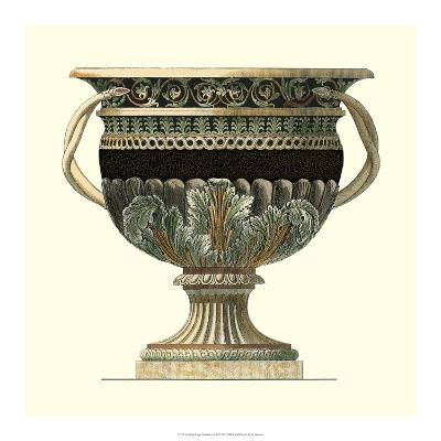 Crackled Large Giardini Urn II