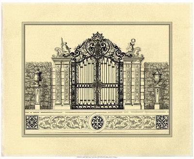 Crackled Grand Garden Gate II