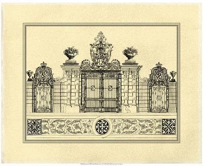 Crackled Grand Garden Gate IV