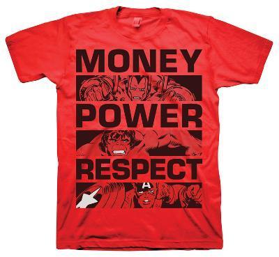 Marvel  - Money Power Respect
