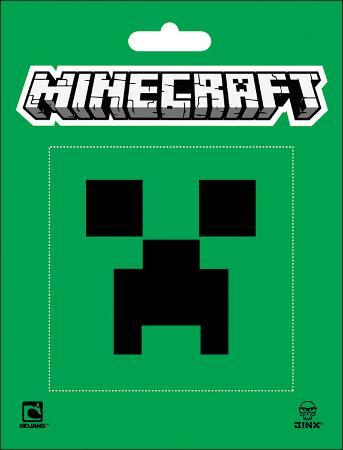 Minecraft- Creeper Face Sticker