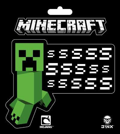 Minecraft - Creeper SSSsss Sticker
