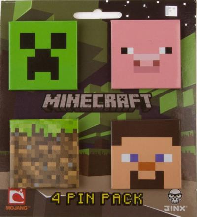 Minecraft Pin Pack