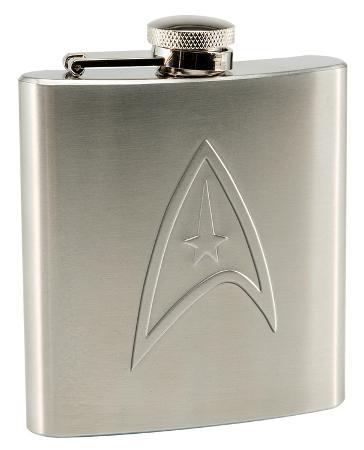 Star Trek 6oz. Stainless Steel Flask