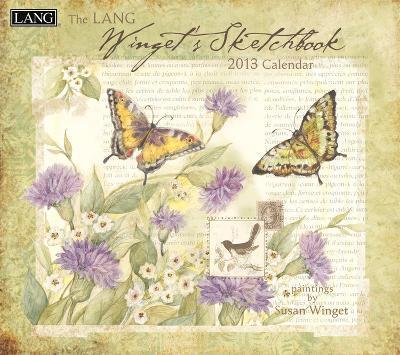 Wingets Sketchbook - 2013 Wall Calendar
