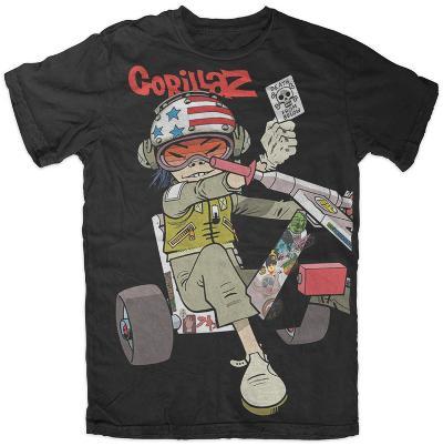 Gorillaz - Chopper Kid (Slim Fit)