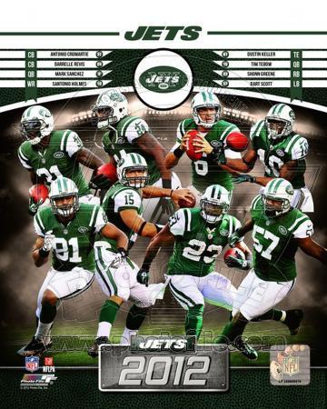 New York Jets 2012 Team Composite