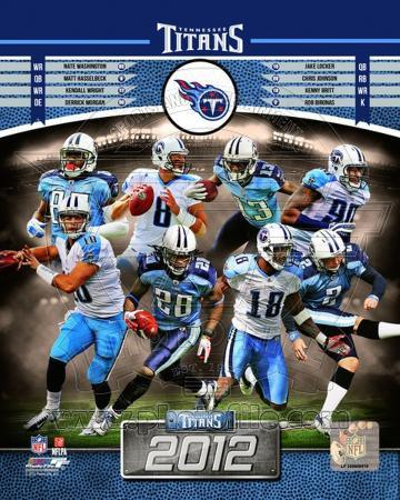 Tennessee Titans 2012 Team Composite