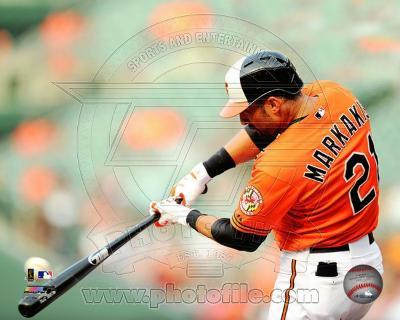 Nick Markakis 2012 Action
