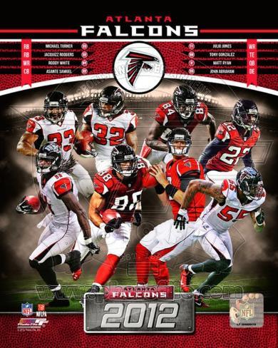 New Atlanta Falcons 2012 Team Composite Photo at